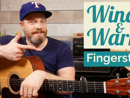 Windy & Warm - Fingerstyle Guitar Lesson