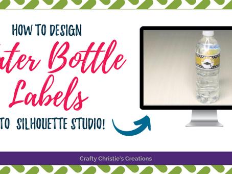 DIY Water Bottle Labels