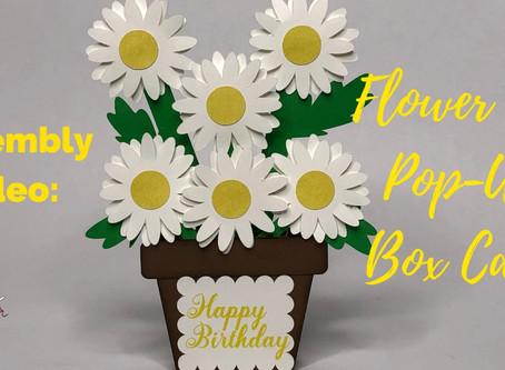 Flower Pot Pop-Up Box SVG Card