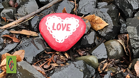 February Craft kindness stone Challenge