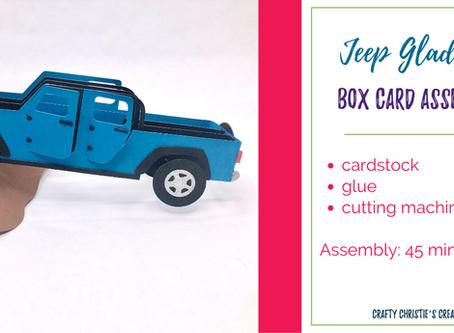 jeep gladiator box card assembly
