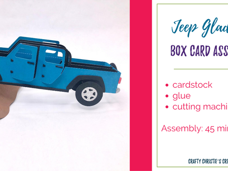 jeep gladiator box card assembly