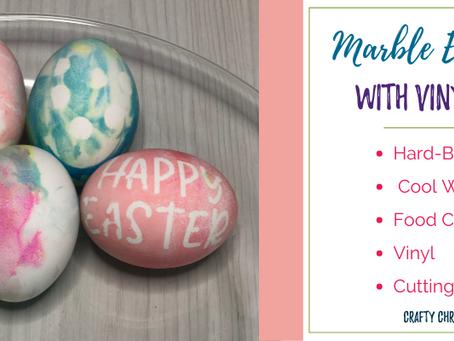 Marbling Easter Eggs
