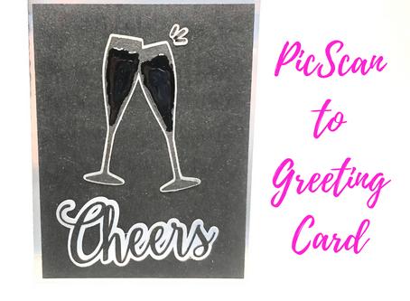 PixScan to Greeting Card