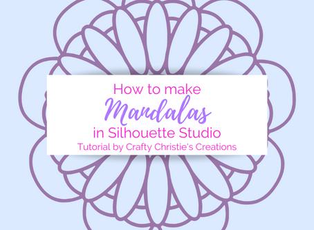 How to make Mandalas in Silhouette Studio