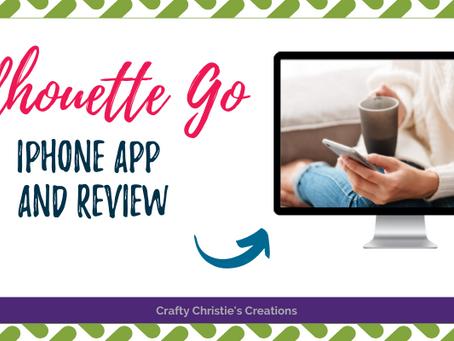 Silhouette Go iphone app