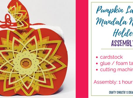 Pumpkin Layered Mandala Napkin holder