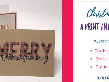 Print and cut cards