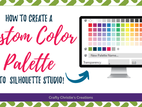 custom color palettes