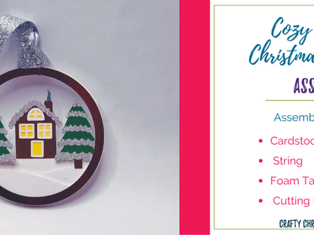 Cozy Cottage Christmas ornament