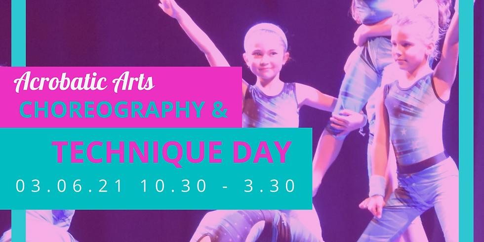 Acrobatics: Technique & Choreography  (6-12 year olds)