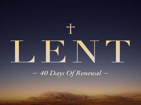 Lent: A Solemn Time of Reflection but also a Chance for Self-Improvement