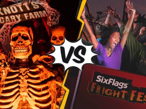 The Ultimate Halloween Theme Park Debate: Knotts Scary Farm vs. Six Flags Fright Fest