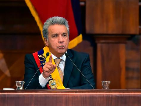 Protests Erupt After Ecuadorian President Enacts New Economic Policies