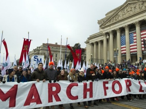 45th Annual March for Life Takes Place in Nation's Capital