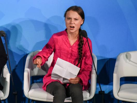 Greta Thunberg Fights to Keep the World Green