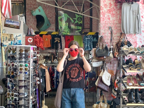 Melrose Avenue Offers Thrift Store Gems to Locals and Tourists