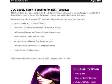 CSC Beauty News