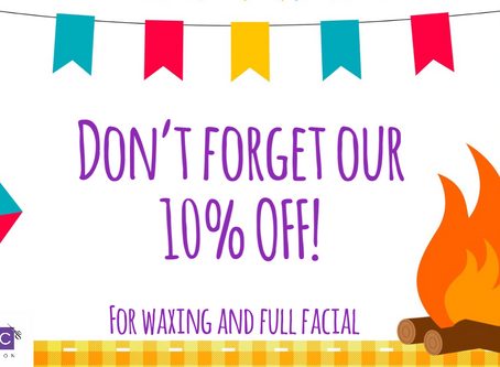 10% OFF in June