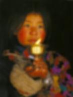 Tibetaans meisje