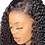 Thumbnail: KINKY CURLY  TRANSPARENT SWISS LACE FRONT GLUELESS WIG
