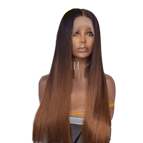 STRAIGHT OMBRÉ BEST GRADE 12A 13x4 LACE FRONT WIG