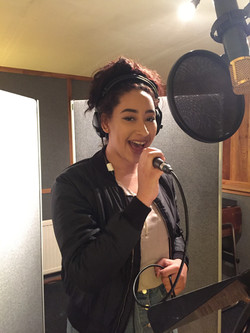 Vocal tuition at ESM studio