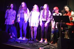 Singing group performance at ESM