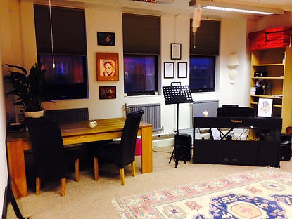 Edinburgh School of Music studio