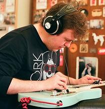 Guitar teacher at Edinburgh School of Music