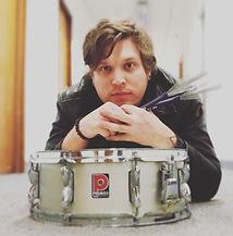 Drum teacher at Edinburgh School of Music