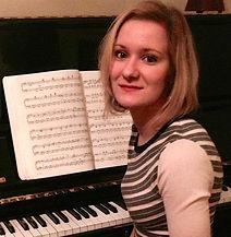 piano teacher at Edinburgh School of Music