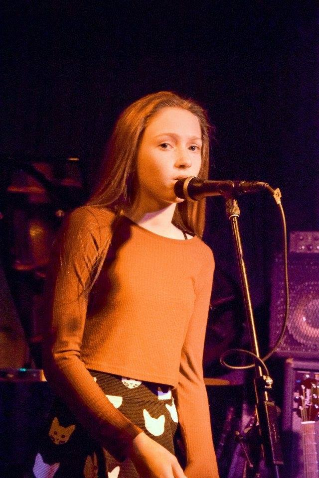 ESM student singing
