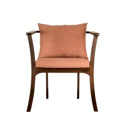 Кресло NORRA в скандинавском стиле для к