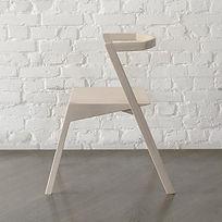 Стул SEVEN из бука в скандинавском стиле, стул из дерева, деревянный стул, минимализм