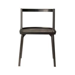 Стул CH-AIR-black wood