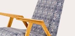Кресло RONNIE минимализм из прошлого века