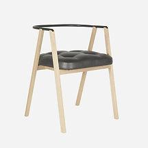 Стул ANDY из дуба в скандинавском стиле, стул, деревянный стул, стул для дома, стул для кафе