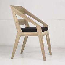 Стул BLADE из дуба в скандинавском стиле, стул для гостиной, деревянный стул, стул для кафе