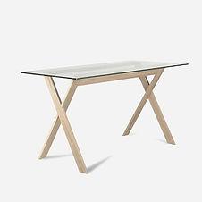 Стол AIR из дуба в скандинавском стиле, стол из дуба, деревянная мебель, стол деревянный