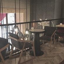 Кресло OREO и стулья CH-AIR от KRASKA в