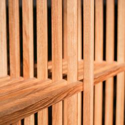 Стелаж BIG TEN из дуба в скандинавском стиле из 10 полок