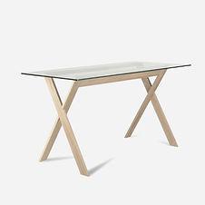 Стол AIR из дуба в скандинавском стиле о