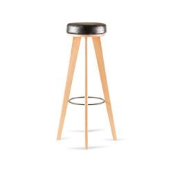 Табурет LATTE барный стул в скандинавском стиле