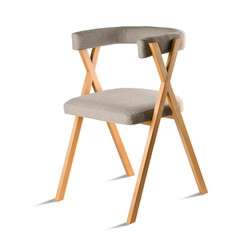Стул SOFT-CR для гостиной и детской в скандинавском стиле мягкий