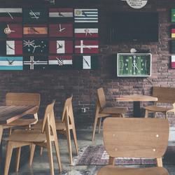 Стул ZEN в интерьере кафе