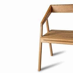Стул MOHAWK, wooden chair в скандинавском стиле из дуба