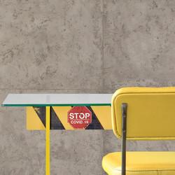 Комплект стол и стул в индустриальном ст