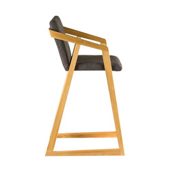 Кресло RISE барное в скандинавском стиле