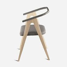 Стул GRACE из бука в скандинавском стиле, деревянный стул, стул, стул в гостиную